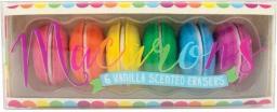 Kolorowe Baloniki Gumki do Ścierania Pachnące Słodkie Makaroniki