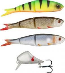 Savage Gear Soft 4Play 9.5cm Lip Scull Kit 3+1 Roach/ Rudd/ Firetiger (48699)