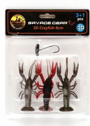Savage Gear 3D Crayfish Kit 8cm 3+1 (57633)
