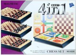 Mega Creative Gra magnetyczne szachy 4w1