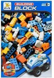 Mega Creative Klocki konstrukcyjne 1000 elementów - policja