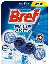 """BREF WC valiklis-gaiviklis """"BREF Blue Aktiv Chlorine"""" 50g"""