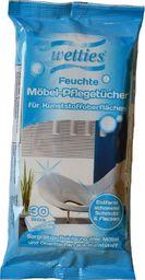 Wetties Chusteczki nawilżane do powierzchni plastikowych, 30 szt.