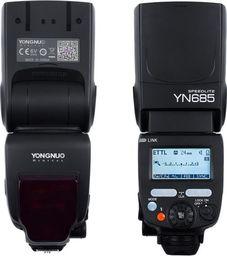 Lampa błyskowa Yongnuo Lampa Yongnuo YN-685 LCD HSS Nikon iTTL 2.4GH