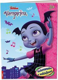 Vampirina. Kolorowanka z naklejkami