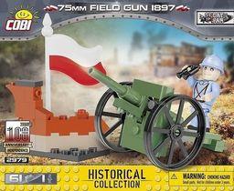 Cobi 75mm Field gun 1897 61 elementów (2979)