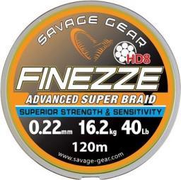 Savage Gear Finezze HD8 Braid 300m 0.19mm 13.7kg (47546)