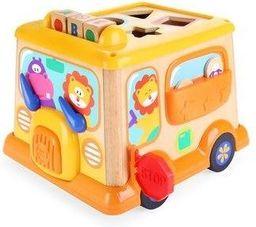 Brimarex Top Bright - Autobus drewniany interaktywny w pud. BRIMAREX