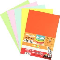 Polsirhurt Papier ksero A4 80g mix kolorów 100 arkuszy