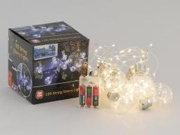 Lampki choinkowe Adar łańcuch żarówki na baterie (421974)