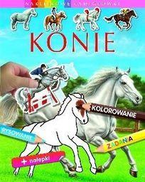 Interdruk Naklejkowe łamigłówki - Konie