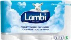 Lambi Papier toaletowy Lambi, 8 szt