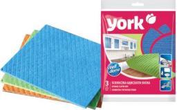 York Ściereczki gąbczaste suche 3szt. (10364758)