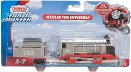 Fisher Price Tomek i Przyjaciele Lokomotywki Bohaterowie Niewidzialny Merlin (BMK88/FJK58)