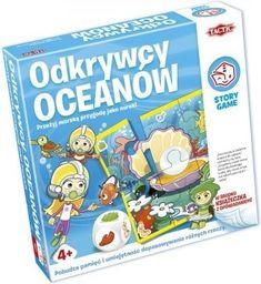 Tactic Gra planszowa Odkrywcy oceanów