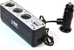 Alburnus Skirstytuvas 3 lizdų USB