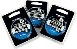 """Fox Matrix Przypon z Haczykiem SW Feeder Hooks to Nylon r.10 Barbed - 1m/40"""" 0.165mm 10 szt (GHK119)"""