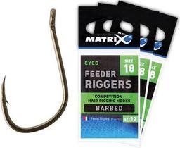 Fox Matrix Feeder Rigger Hooks 18 (GHK036)