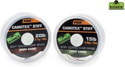 FOX Camotex Dark Stiff 20lb - 20m (CAC444)