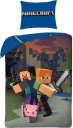 HALANTEX Komplet pościeli Lego Minecraft 140x200cm