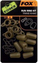 FOX Edges Standard Run Ring Kit - Trans Khaki x 8 (CAC583)