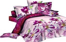 Decoking Pościel Jane różowa 135x200cm + poduszka 80x80cm