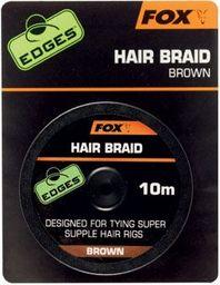 FOX Edges Hair Braid x 10m Brown (CAC565)