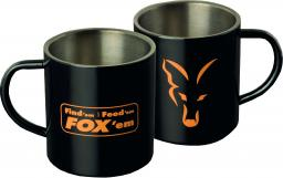 FOX Kubek Stainless Black XL 400ml Mug FFF (CLU254)