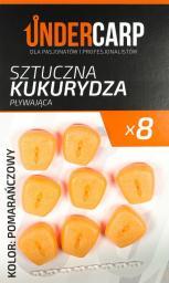 Under Carp Sztuczna Kukurydza Pływająca Pomarańczowa (UK127)