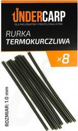 Under Carp Rurka termokurczliwa 8szt 1.0mm zielona (UK042)