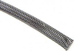 Techflex Rurka termokurczliwa Flexo PET 9mm Karbon 1m (PTN0.38-CB)