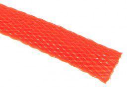 Techflex Rurka termokurczliwa Flexo PET 9mm Neonowo-czerwona 1m (PTN0.38-NR)