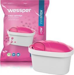 Wessper Wessper Aquamax MG+ - filtr wkład  z magnezem do dzbanka Brita Dafi Aquaphor