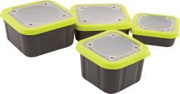 Fox Matrix Grey/Lime Bait Boxes Solid Top 2.2pt (GBT017)
