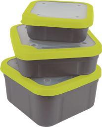 Fox Matrix Grey/Lime Bait Boxes 3.3 pt (GBT015)