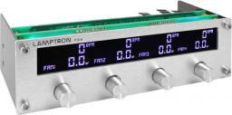"Lamptron Panel FC6 Fan Controller 5,25"" srebrny (LAMP-FC0081S)"