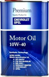 Olej silnikowy FANFARO OLEJ DO OPEL/CHEVROLET 10W40 1L SN/CF 502.00 505.00 / 229.1 / METALOWE OPAKOWANIE