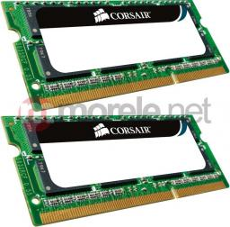 Pamięć do laptopa Corsair DDR3 SODIMM 2x4GB 1333MHz CL9 (CMSO8GX3M2A1333C9)
