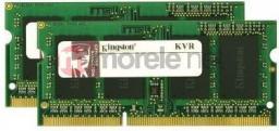 Pamięć do laptopa Kingston DDR3 SODIMM 2x8GB 1333MHz CL9 (KVR13S9K2/16)