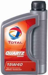 Olej silnikowy Total Quartz 5000 mineralny 15W-40 1L