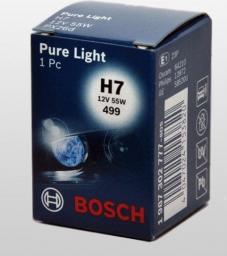 Bosch Żarówka H7 12V/55W PX26D PURE LIGHT 1SZT
