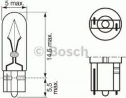 Bosch zarówka bosch 24V 1.2W (1987302504SET)