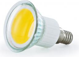 Whitenergy Żarówka LED  E14  COB  2.5W  230V  190Lm  ciepła biała   (08230)