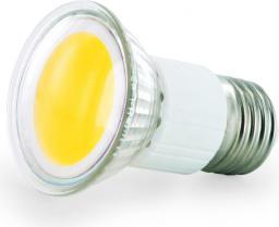 Whitenergy żarówka LED |E27 |COB |2.5W |230V |190Lm |ciepła biała | (08228)