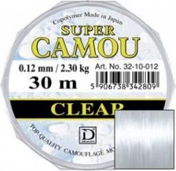 Dragon Fishing Żyłka Super Camou Clear 0.08mm 1.15kg 30m