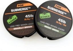 FOX Submerge lead free leader green 30lb x 10m (CAC463)