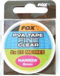 FOX Narrow 2 x 10m 5mm clear tape (CPV014)
