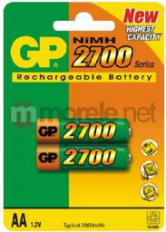 GP Battery Akumulator ReCyko+ AA / R6 2700mAh 2szt.