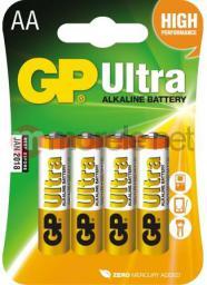 GP Bateria Ultra AA / R6 4szt.