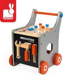 Janod Wózek warsztat magnetyczny z narzędziami  Brico 'Kids kolekcja 2018, Janod